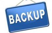 Backups!